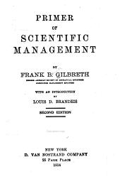 Primer of Scientific Management