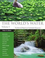 The World s Water Volume 8 PDF