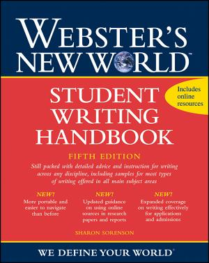 Webster s New World Student Writing Handbook PDF
