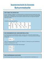 Quantenmechanik f  r Dummies PDF
