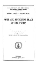Paper and Stationery Trade of the World