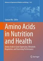 Amino Acids in Nutrition and Health PDF