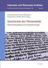 Geschichte der Fiktionalit  t PDF