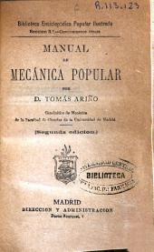 Manual de mecánica popular