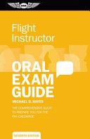 Flight Instructor Oral Exam Guide PDF