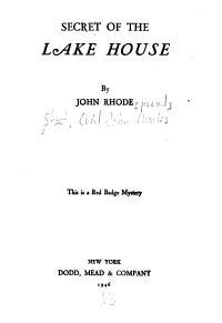Secret of the Lake House