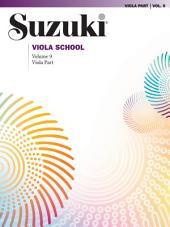 Suzuki Viola School - Volume 9: Viola Part