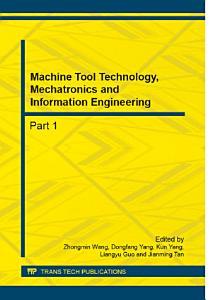 Machine Tool Technology  Mechatronics and Information Engineering PDF