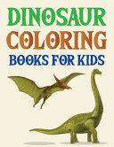 Dinosaur Coloring Books For Kids