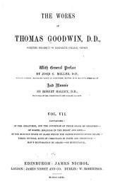 The Works of Thomas Goodwin: Volume 7