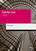 Family Law 2016 PDF