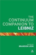 The Continuum Companion to Leibniz PDF