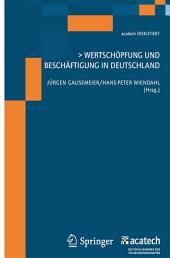 Wertschöpfung und Beschäftigung in Deutschland