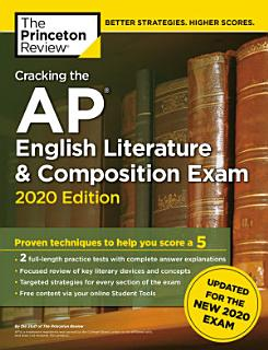 Cracking the AP English Literature   Composition Exam  2020 Edition Book