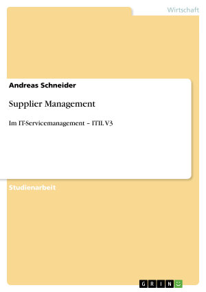 Supplier Management PDF