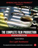 The Complete Film Production Handbook PDF