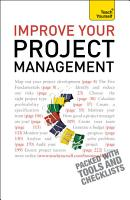 Improve Your Project Management  Teach Yourself PDF