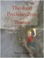 Theology  Psychoanalysis and Trauma PDF