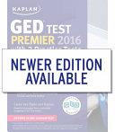 Kaplan Ged Test Premier 2016 With 2 Practice Tests Book PDF