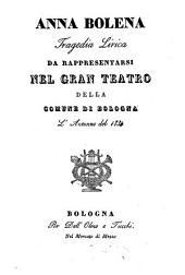 Anna Bolena: tragedia lirica