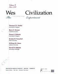 Western Civilization  Since 1560 PDF