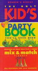 The Only Kid s Party Book You ll Ever Need PDF