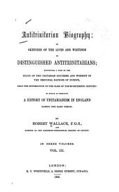Antitrinitarian Biography
