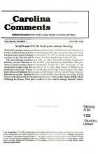 Carolina Comments PDF