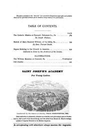 Records of the American Catholic Historical Society of Philadelphia: Volume 7