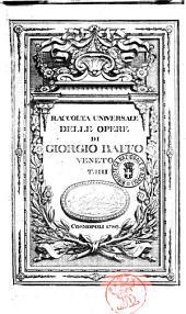 Raccolta universale delle opere di Giorgio Baffo veneto t. 1.[-4.]: Volume 4