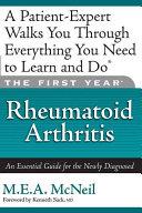The First Year  Rheumatoid Arthritis PDF