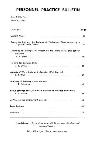 Personnel Practice Bulletin PDF