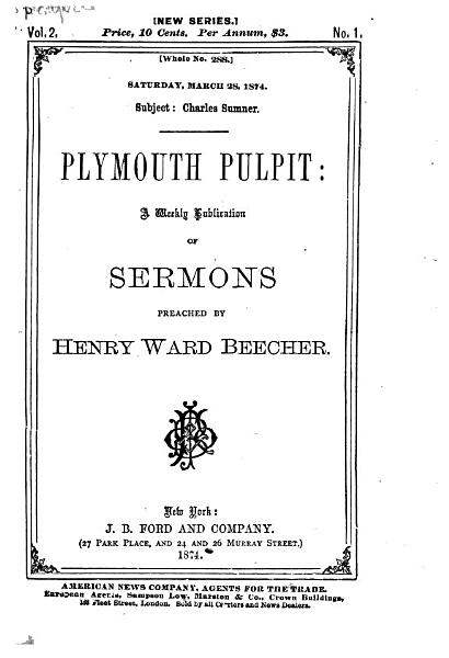 Download Plymouth Pulpit Book