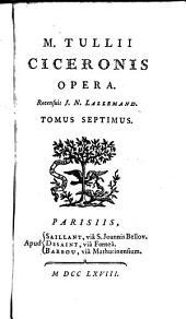Opera: Orationes Pro C. Rabirio Postumo ...