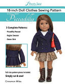 Liberty Jane 18 Inch Doll Clothes Pattern Euro Libby