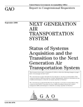 Next Generation Air Transportation System: Status of Systems Acquisition and the Transition to the Next Generation Air Transportation System