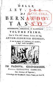 Delle lettere di M. Bernardo Tasso: Volume 1