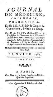 Journal de médecine, de chirurgie et de pharmacie: Volume26