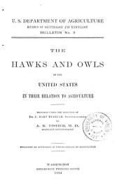 The Hawks and Owls of the United States in Their Relation to Agriculture