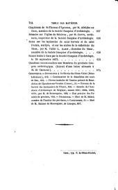 Bulletin monumental, ou, Collection de mémoires et de renseignements: Volume37