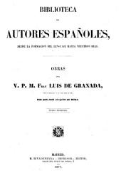 Obras del v. p. m. fray Luis de Granada: con un prólogo y la vida del autor, Volumen 6