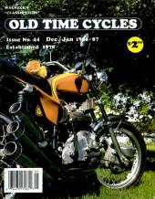 WALNECK'S CLASSIC CYCLE TRADER, DECEMBER/JANUARY 1986-87