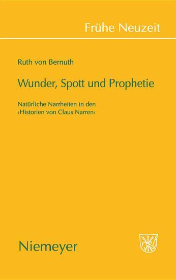 Wunder  Spott und Prophetie PDF