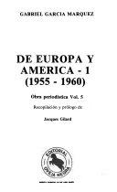 De Europa y Am  rica  1955 1960