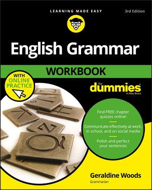 English Grammar Workbook For Dummies  with Online Practice PDF