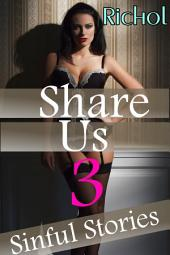 Share Us (Babysitter Lesbian Menage Romance Taboo Erotica Collection): A MFF Romance Bundle