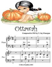 Ottawah - Beginner Tots Piano Sheet Music