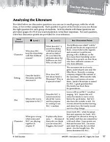 M C  Higgins  the Great Leveled Comprehension Questions PDF