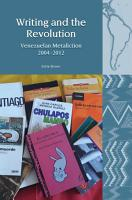 Writing and the Revolution PDF