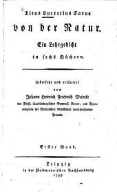 Von der Natur: Ein Lehrgedicht in sechs Büchern. 1 (1795)